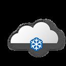 Bedeckt, leichter Schneefall